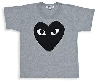 Comme des Garcons Little Kid's Play Kids Logo T-Shirt