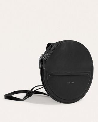 Pixie Mood Black Phoebe Circle Crossbody Bag