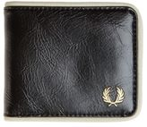 Fred Perry New Mens Black Billfold Leather Wallet Wallets