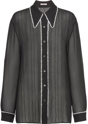 Miu Miu Georgette blouse