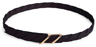 Bottega Veneta Intresse Leather Belt