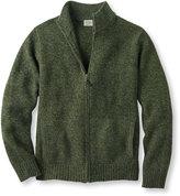 L.L. Bean Bean's Classic Ragg Wool Sweater, Full-Zip