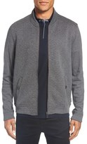 Ted Baker Men's Big & Tall Bruno Trim Fit Quilted Baseball Jacket