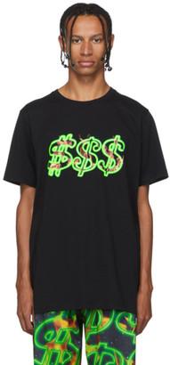 SSS World Corp Black Dollar Fire T-Shirt
