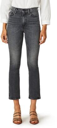 Hudson Holly High Waist Crop Bootcut Jeans