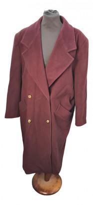 Marella Burgundy Cashmere Coats