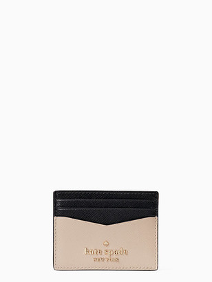 Kate Spade Staci Colorblock Small Slim Card Holder