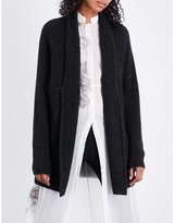 Isabel Benenato Exposed-seam wool-blend cardigan