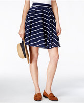 Maison Jules Striped Circle Skirt, Only at Macy's