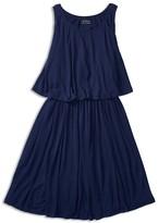 Ralph Lauren Girls' Layered Knit Dress - Sized 2-6X
