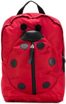 Dolce & Gabbana ladybug backpack - kids - Leather/Polyamide - One Size