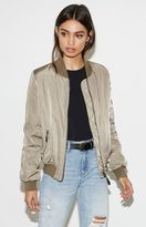 KENDALL + KYLIE Kendall & Kylie Updated Satin Bomber Jacket