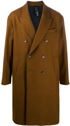 Hevo Double-Breasted Wool Coat