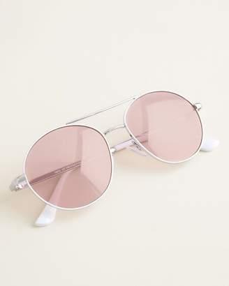 Chico's Chicos White Aviator Sunglasses