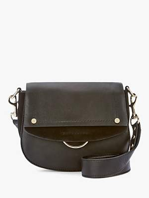 Mint Velvet Blair Saddle Leather Bag