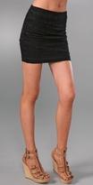 Blank Denim Bandage Miniskirt