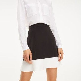 Tommy Hilfiger Colour-Blocked A-Line Skirt