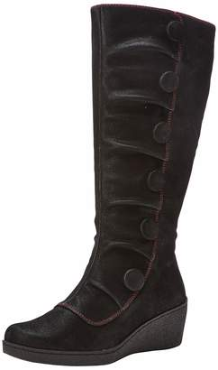 Joe Browns Women's Bold and Beautiful Wedge Boots High