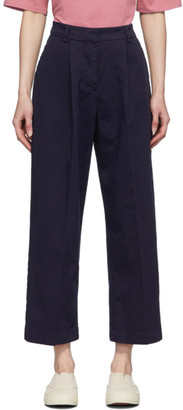 YMC Navy Market Trousers