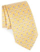 Salvatore Ferragamo Men's Penguin Print Silk Tie