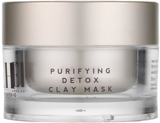 Purifying Detox Clay Mask With Dual Action Cleansing Cloth by Emma Hardie