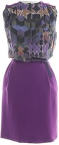 Preen by Thornton Bregazzi Purple Silk Dress for Women