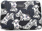 Radley Folk Dog Fabric Medium Pouch Bag, Black