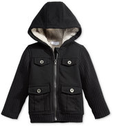First Impressions Baby Boys' Hooded Cargo Jacket, Only at Macy's