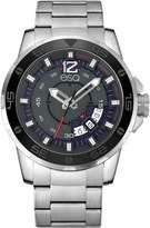 ESQ Swiss Men's Stainless Steel Silvertone Watch, Date Window