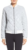 Alo Women's Reflective Bomber Jacket