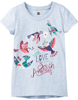 Tea Collection With Love Graphic Tee (Toddler, Little Girls, & Big Girls)