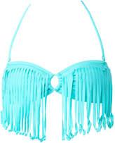 Roxy Surf Essentials Fringe Bandeau Bikini Top - Women's