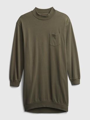 Gap Pocket Sweatshirt Dress
