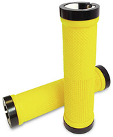 Zinc Interchangeable Scooter Handlebar Pro Grips - Yellow