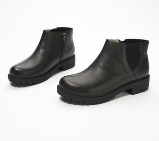 Alegria Leather Ankle Boots - Shayne