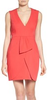 BCBGMAXAZRIA Women's Clare Satin Sheath Dress