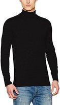 New Look Men's Basic Roll Neck T-Shirt