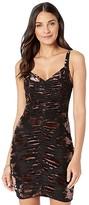 ASTR the Label Antonia Dress (Cocoa Black) Women's Clothing
