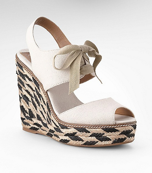 Tory Burch Linley High Wedge Espadrille