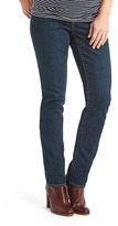 Gap Maternity full panel real straight jeans