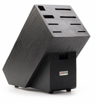 Wusthof Empty Grained Black Beech Knife Block For 9 Pieces