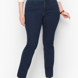 Talbots Plus Size Barely Boot Jeans - Simple Marco Wash