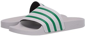 adidas Adilette (Lush Red/Footwear White/Lush Red) Men's Slide Shoes