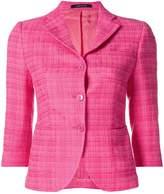 Tagliatore single-breasted textured jacket