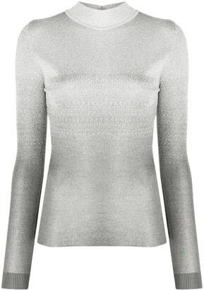 Paco Rabanne Ombre Print Jumper