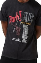 Topman Men's Topshop Spliced Band Graphic T-Shirt