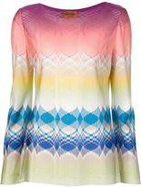 Missoni printed woven blouse