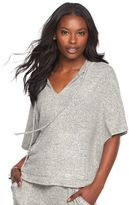 Juicy Couture Women's Embellished Poncho Top
