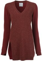 Barrie cashmere v-neck jumper