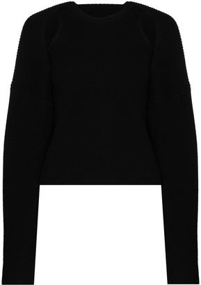 Frankie Shop Knitted Wool Shrug Set